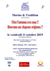 Repas dansant de Marine & Tradition