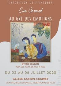 Exposition de Mme Eve Grenet