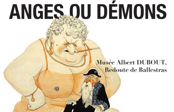Exposition Dubout « Femmes : anges ou démons » 2 - Palavas-les-Flots