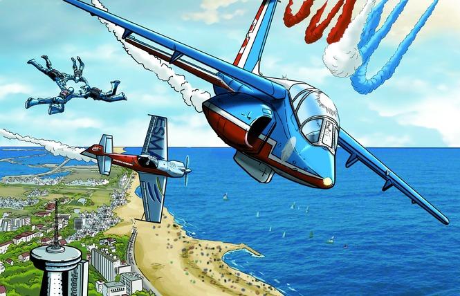 Meeting aérien de la Patrouille de France 2 - Palavas-les-Flots