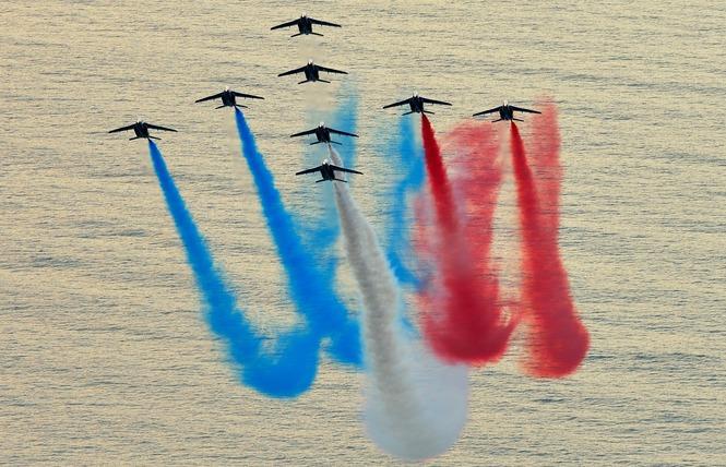 Meeting aérien de la Patrouille de France 3 - Palavas-les-Flots