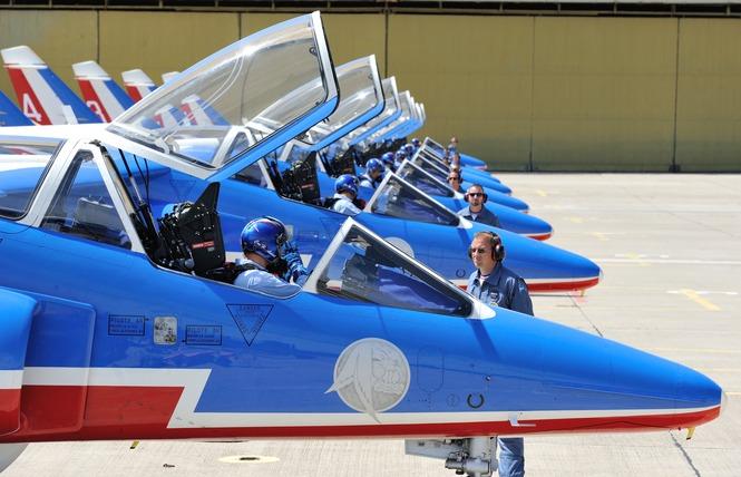 Meeting aérien de la Patrouille de France 4 - Palavas-les-Flots