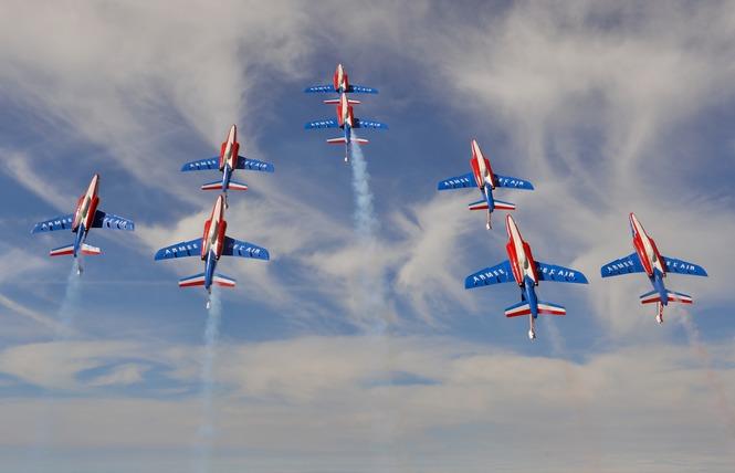 Meeting aérien de la Patrouille de France 5 - Palavas-les-Flots