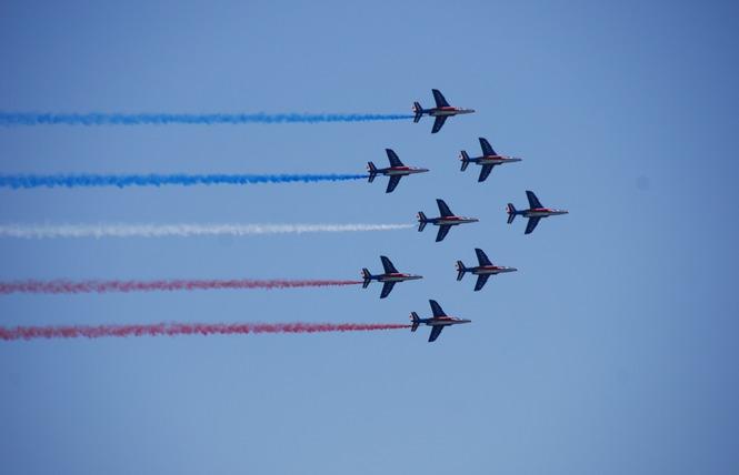 Meeting aérien de la Patrouille de France 6 - Palavas-les-Flots