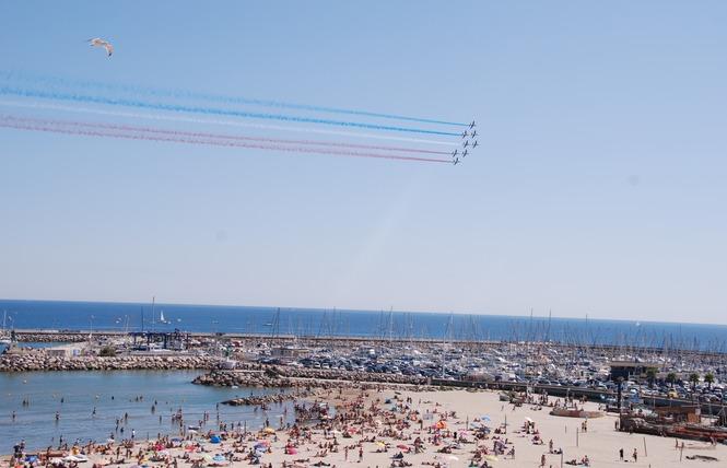Meeting aérien de la Patrouille de France 9 - Palavas-les-Flots